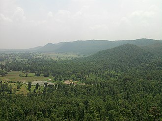 Ramgarh district -  A View of Ranchi Plateau and Damodar Valley, between Ramgarh and Chutupallu