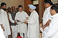 A delegation of leaders from Bundelkhand region led by Shri Rahul Gandhi presenting a memorandum to the Prime Minister, Dr. Manmohan Singh, in New Delhi on July 28, 2009.jpg