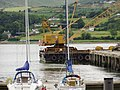 A floating crane in Warrenpoint harbour - geograph.org.uk - 1396250.jpg
