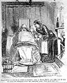 A man ill with a cold, wrapped in blankets as his servant at Wellcome L0005371.jpg