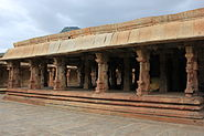 A mantapa (hall) in Bhoganandishvara group of temples at Chikkaballapur district
