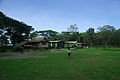 A small child walks across the lawn at the Christian Care Centre. (10663560733).jpg