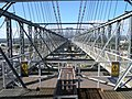 A view down Newport Transporter Bridge's span - geograph.org.uk - 556551.jpg