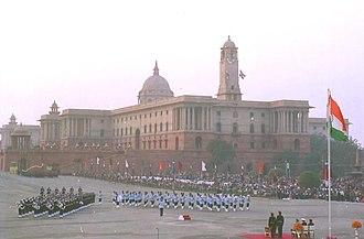 Beating Retreat - The 2004 Beating Retreat in New Delhi.