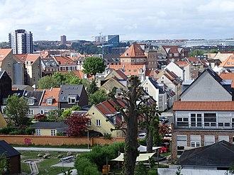 Frederiksbjerg - Image: Aarhus skyline 03
