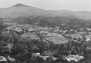 Abbottabad District - A picture of Abbottabad city taken in 1907