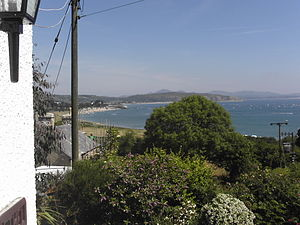 Abersoch - Image: Abersoch Bay from Machroes