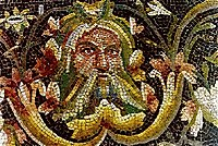 Acheloos, detail of roman mosaic from Zeugma.jpg