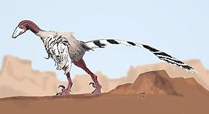 Lebendrekonstruktion von Achillobator giganticus