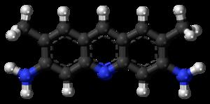 Acridine yellow - Image: Acridine yellow 3D balls