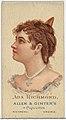 Ada Richmond, from World's Beauties, Series 2 (N27) for Allen & Ginter Cigarettes MET DP838187.jpg
