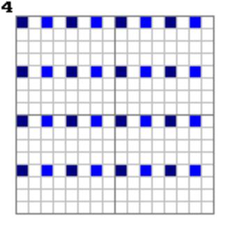 Adam7 algorithm - Image: Adam 7 pass 4