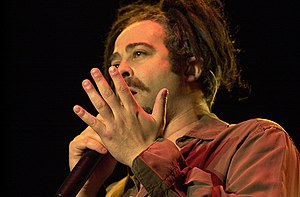 Adam Duritz, frontman Counting Crows