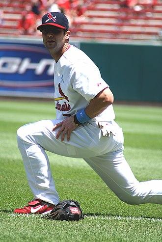 Adam Kennedy - Adam Kennedy with Cardinals in 2008.