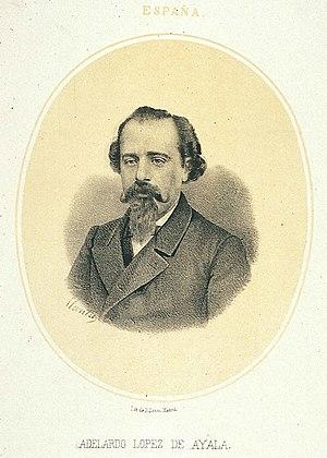 López de Ayala, Adelardo (1828-1879)