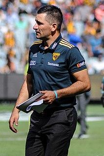 Adem Yze Australian rules footballer and coach