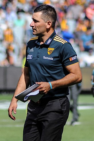 Adem Yze - Yze with Hawthorn in April 2017