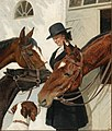 Adolf Heinrich-Hansen - Visiting the Horses.jpg