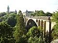 Adolphe bridge in Luxembourg city 2007 02.JPG