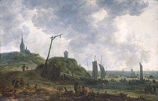 Plage à Katwijk