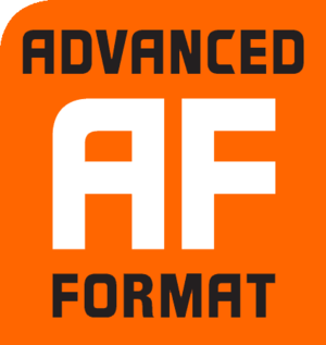 Advanced Format - Image: Advanced format logo