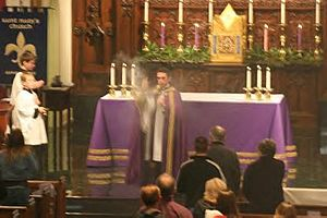 Vespers - Incensing During Solemn Advent Vespers