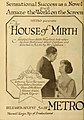 """Advertisement for """"The House of Mirth"""".jpg"""
