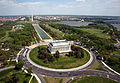 Aerial view of Lincoln Memorial - west side.jpg