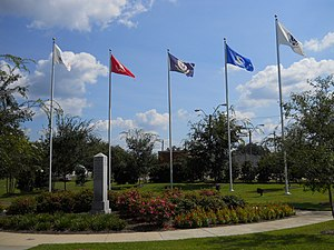 African American Military History Museum - Memorial Gardens at the African American Military History Museum