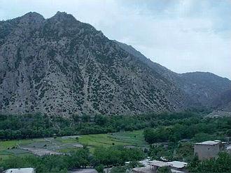 Aryob - Ahmadkhel village in Zazi District