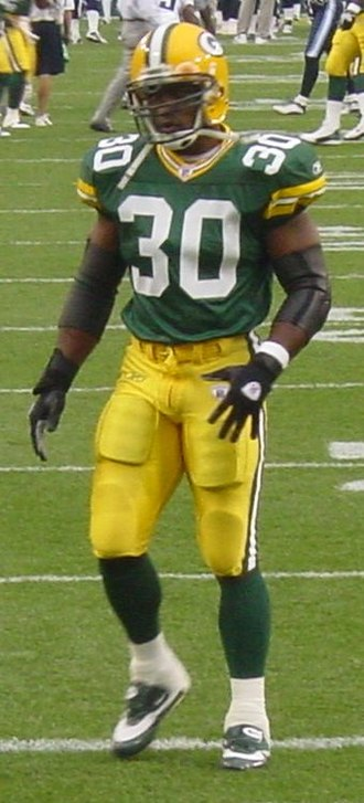 Ahman Green - Ahman Green with the Packers in 2003
