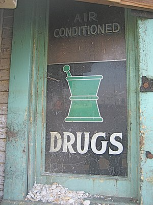"""Air Conditioned Drugs"". Old (c. mid..."