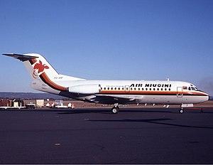 Air Niugini - Former Air Niugini Fokker F28