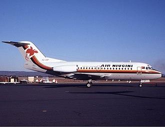 Air Niugini - Air Niugini Fokker F28 in the 1980s