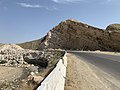 Akkapchigay river and R-105 road.jpg