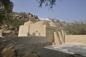 Fujairah - Al Badiyah mosque - the oldest in the UAE.