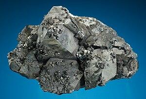 Alabandite - Uchucchacua Mine, Oyon, Lima, Peru.jpg