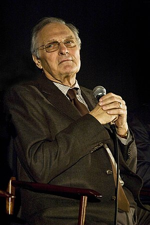 English: Alan Alda (born January 28, 1936) is ...