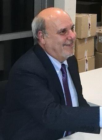 "Alan Friedman - Friedman at the presentation of his book ""Ammazziamo il gattopardo""."