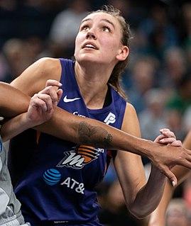 Alanna Smith Australian professional basketball player