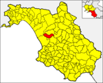 Locatio Albanellae in provincia Salernitana