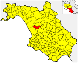 Albanella within the Province of Salerno