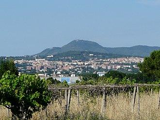 Albano Laziale - Image: Albano L. Panorama