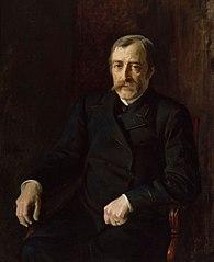Portrait of Professor Carl Gustaf Estlander