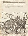 Albrecht Dürer - The Triumphal Chariot of Maximilian I (The Great Triumphal Car) (plate 6 of 8).jpg