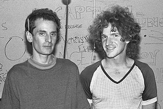 Scott Miller (pop musician) - Alex Chilton and Scott Miller, Berkeley, 1986.