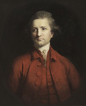 Alexander Dow - Portrait painting by Sir Joshua Reynolds, 1771