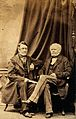 Alfred Swaine Taylor and William Thomas Brande. Photograph. Wellcome V0028504.jpg