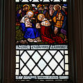 All Hallows Church Tottenham Haringey England - south aisle west window.jpg
