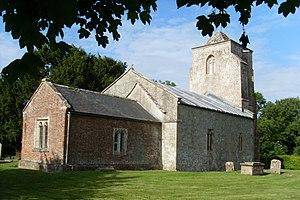 Alton, Wiltshire - The redundant All Saints' parish church, Alton Priors